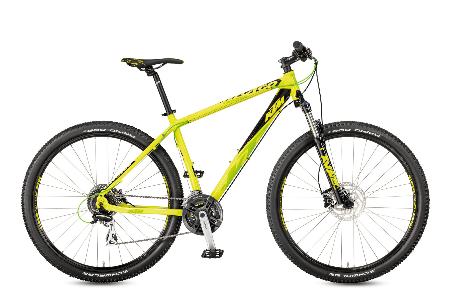 Bicicleta KTM CHICAGO 29.24 Disc H RC    24s Acera 2017 - 1