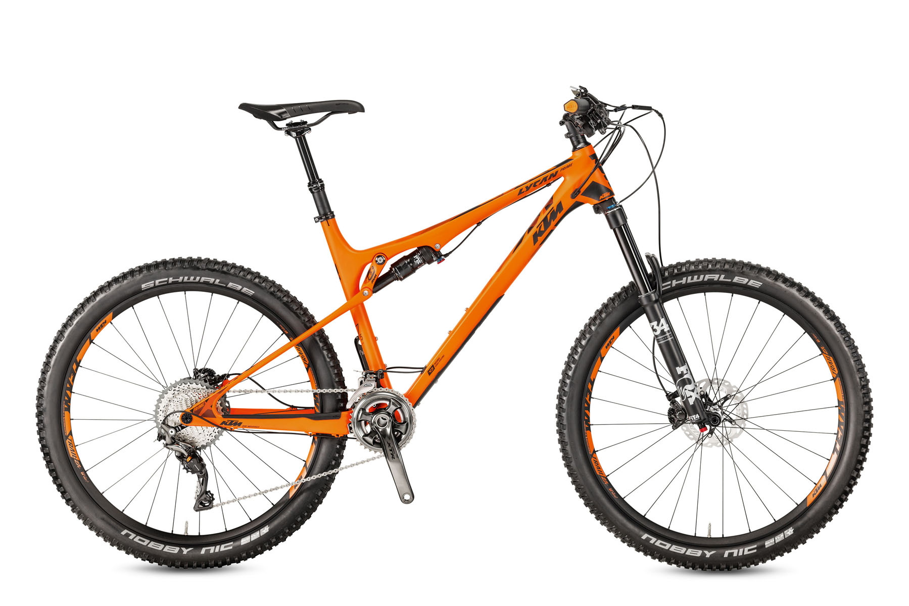 Bicicleta KTM LYCAN 27 PRIME 22S XTR Full Suspension – 2017