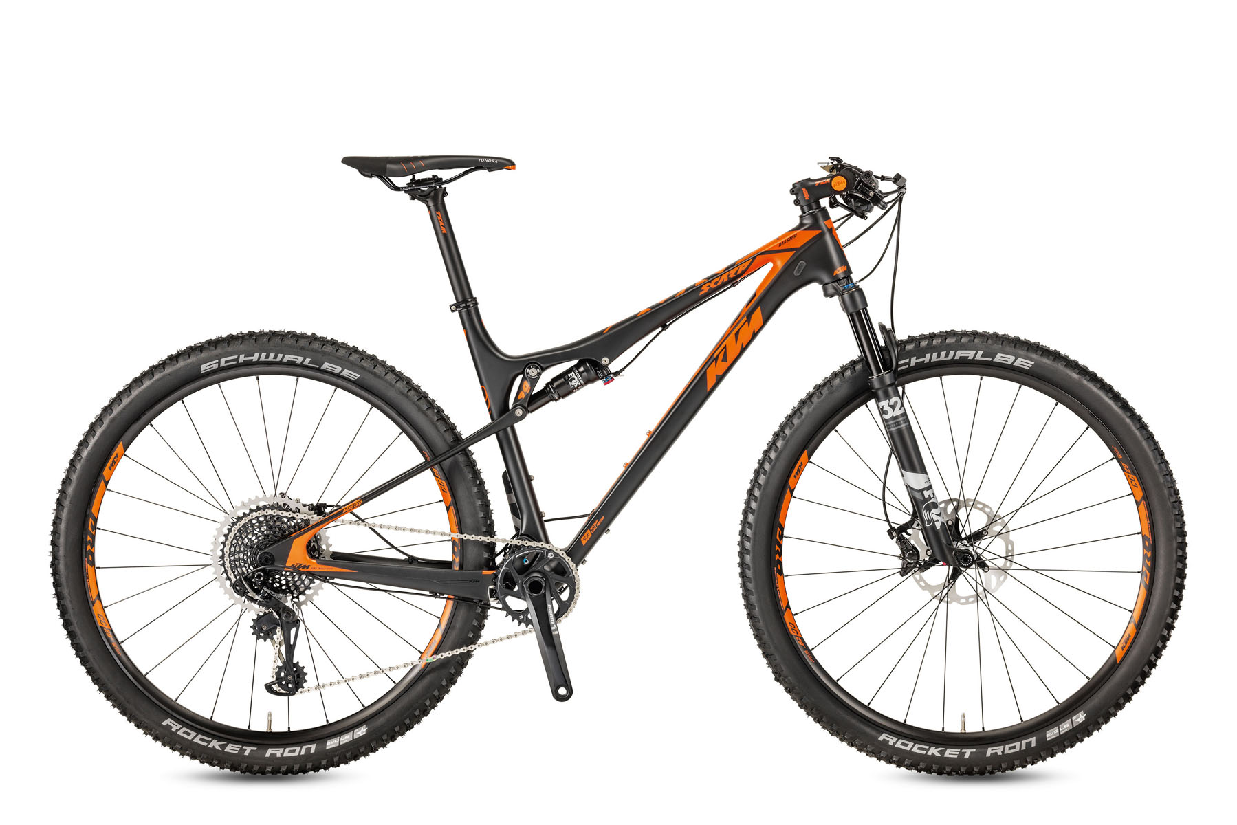 Bicicleta KTM SCARP 29 MASTER 12S X01 Full Suspension – 2017