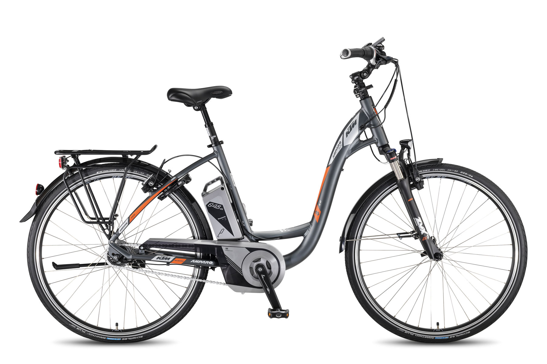 Bicicleta KTM Electrica AMPARO XL 8-RT 28 648    8s Nexus/RT 2017