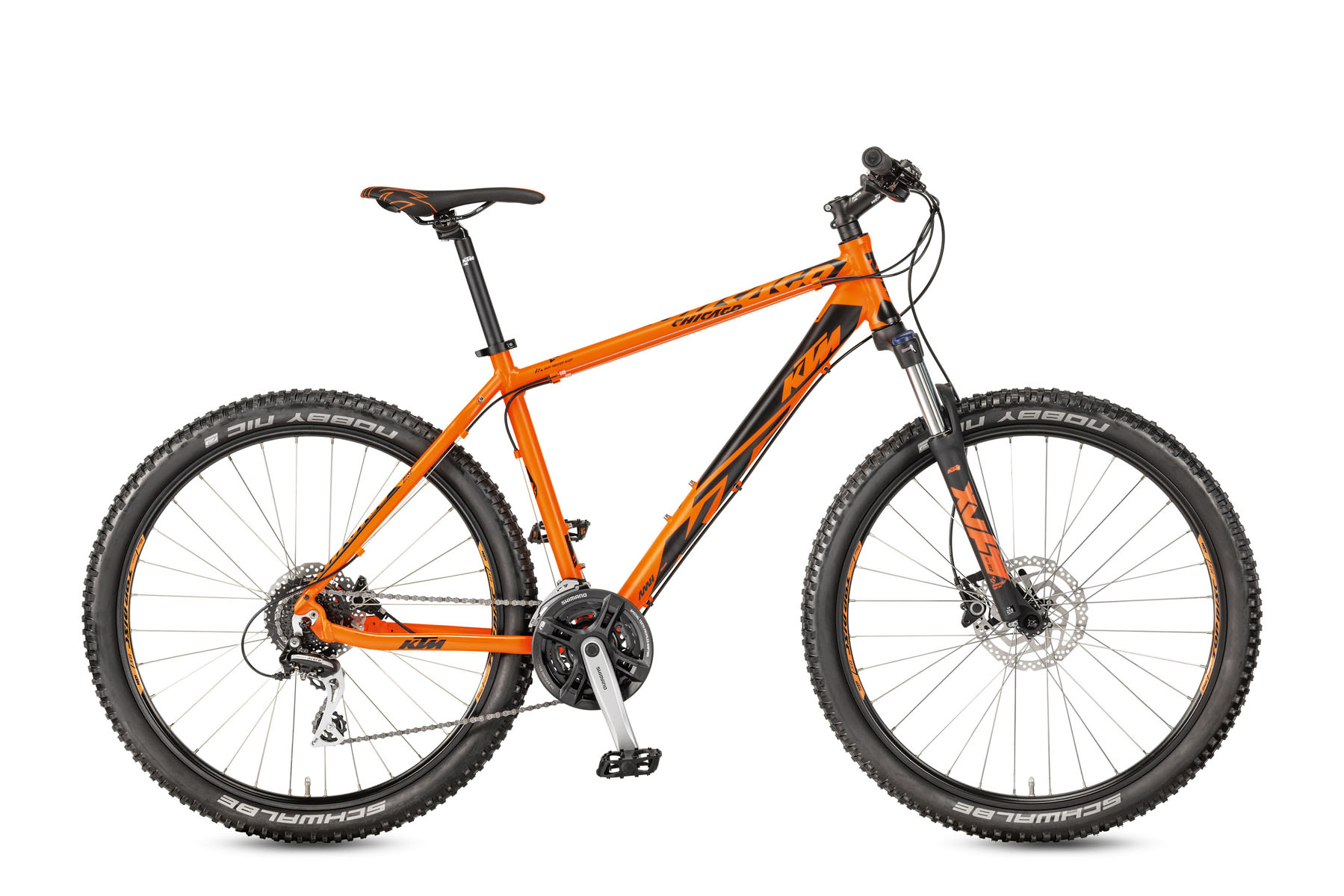 Bicicleta KTM CHICAGO 27.24 Disc H RC    24s Acera 2017