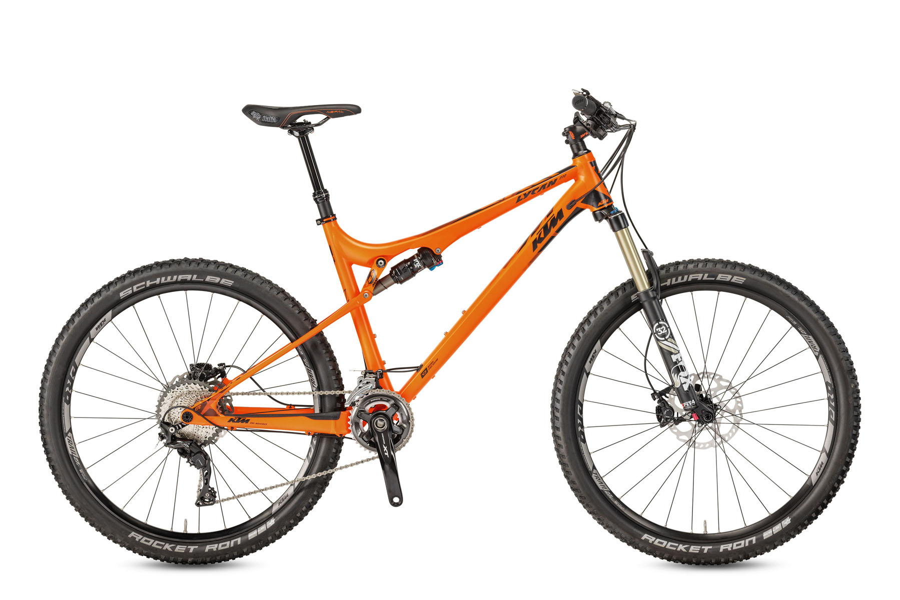 Bicicleta KTM LYCAN 272    22s/33s XT Full Suspension 2017
