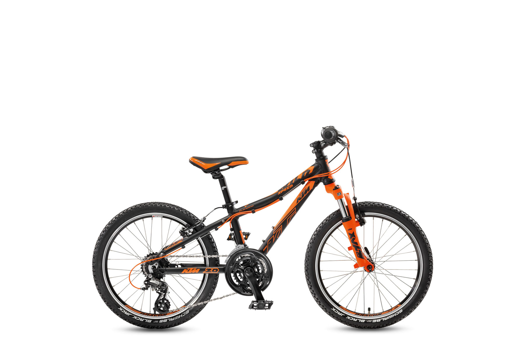 Bicicleta KTM Copii WILD Speed 20.21 V    21s Altus 2017