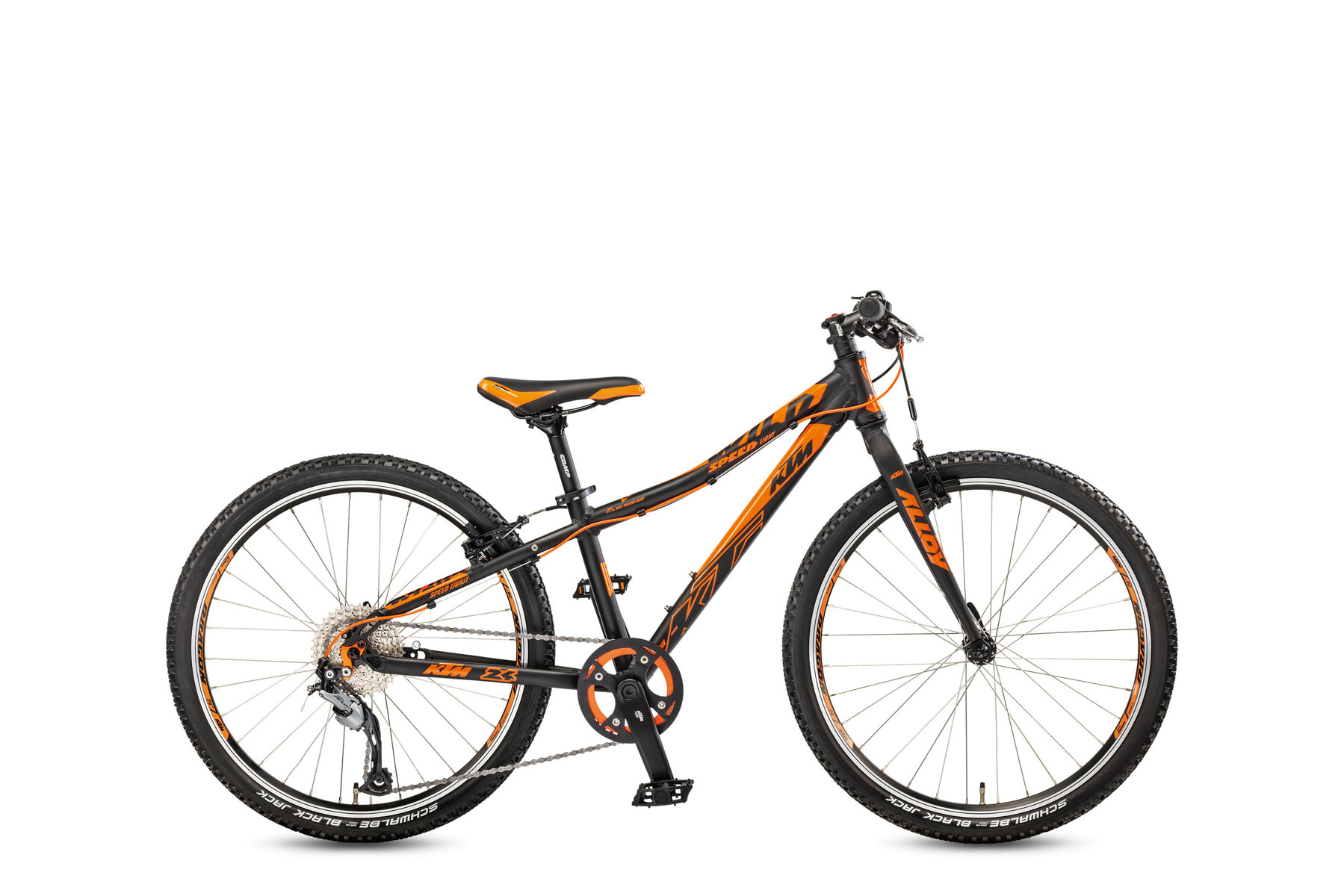 Bicicleta KTM Copii WILD Speed 24.9 Light    9s Acera 2017