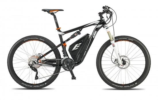Bicicleta KTM Electrica eLYCAN  P 30-S XT – 2015