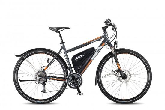 Bicicleta Electrica KTM  E STREET P 27s XT – 2016