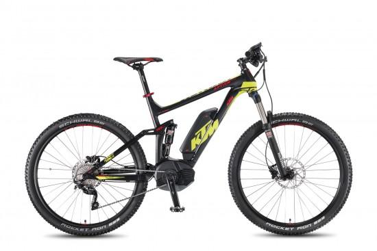Bicicleta Electrica KTM MACINA Lycan 27.5 10 CX4- 2016