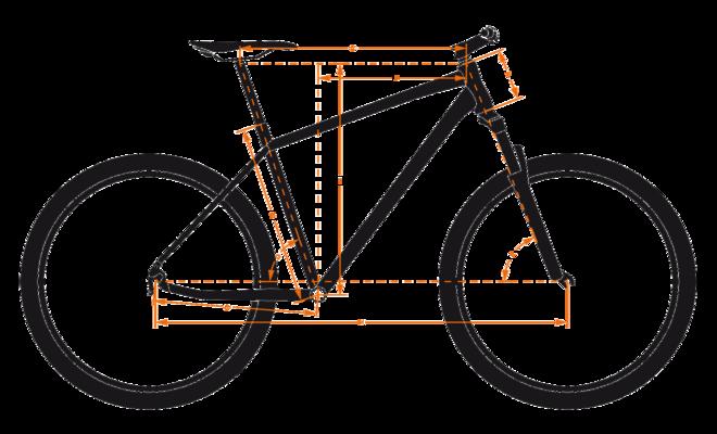 Bicicleta KTM FAT RAT     22s GX 2017