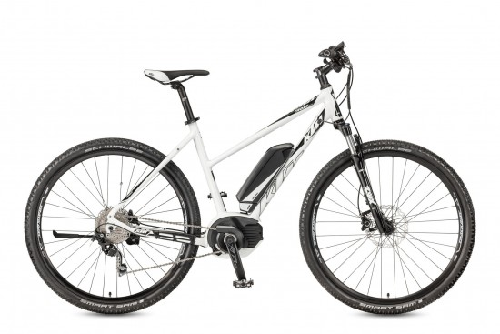 Bicicleta KTM Electrica MACINA Cross 10 CX5    10s Deore 2017