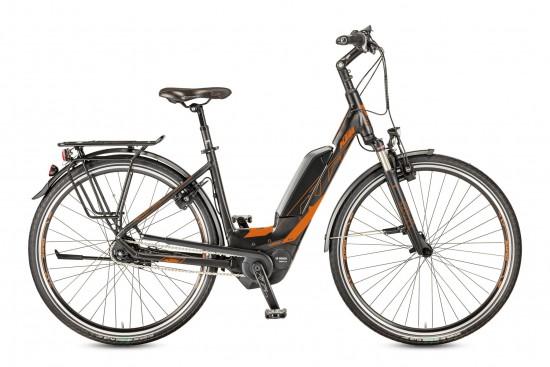 Bicicleta KTM Electrica MACINA Eight 28 RT A5    8s Nexus 2017