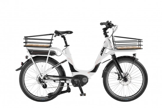 Bicicleta KTM Electrica MACINA E-Shopper    8s Nexus 2017