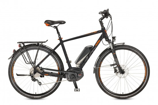 Bicicleta KTM Electrica MACINA Fun 10 P5    10s Deore 2017