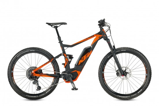 Bicicleta KTM Electrica MACINA Lycan 271    8s EX1 2017