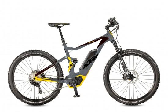 Bicicleta KTM Electrica MACINA Lycan 272    11s Deore XT 2017