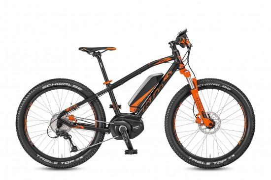 Bicicleta KTM Electrica MACINA Mini Me 241    9s Deore 2017