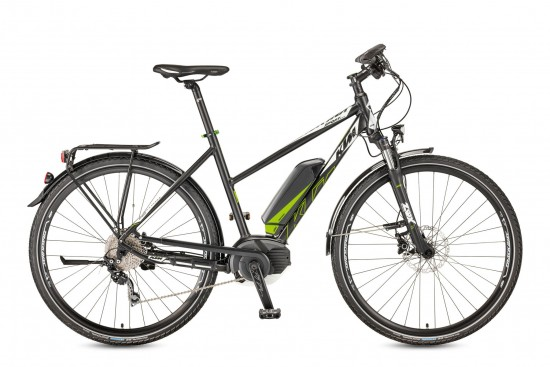 Bicicleta KTM Electrica MACINA Sport CL 10 CX5    10s Deore 2017