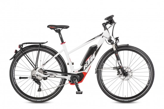 Bicicleta KTM Electrica MACINA Sport 11 CX5    11s Deore XT 2017
