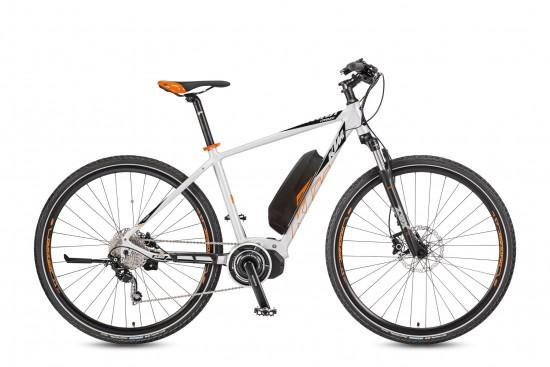 Bicicleta KTM Electrica VENTURA Cross 10    10s Deore 2017