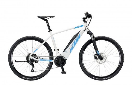 Bicicleta Electrica KTM MACINA CROSS 9 A+4 2019